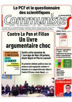 Journal CommunisteS n°670 1er mars 2017