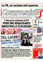 Journal CommunisteS n°673 22 mars 2017