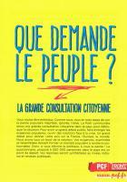 LA GRANDE CONSULTATION CITOYENNE