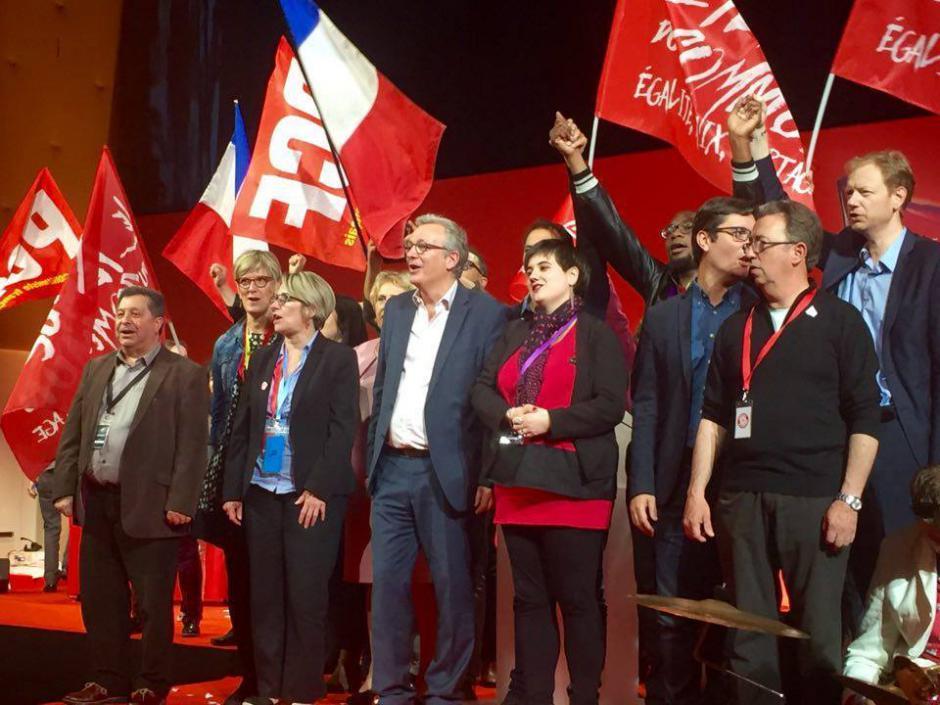 37ème congrès du PCF Pierre LAURENT réélu